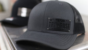 Turnin Rust - Texas License Plate Badge Hat