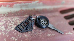 Turnin Rust Key Chain