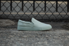 Slip On in Pale Aqua Tonal