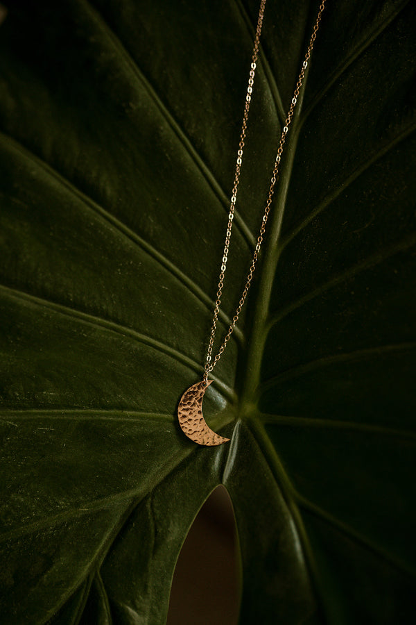 Luna Crescent Necklace