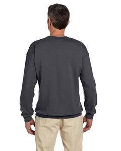 Gildan Men's Heavy Blend Gildan Crewneck Sweatshirt Custom USA Embroidered