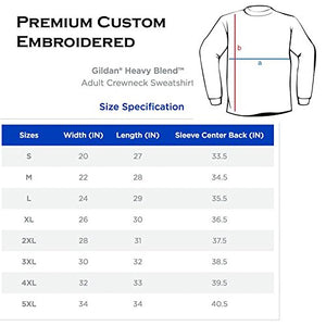 Men's Embroidered States/Country Crewneck Sweatshirt