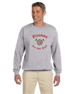 Choose a Men's Occupation Embroidered Crewneck Sweatshirt Fireman, Lawyer