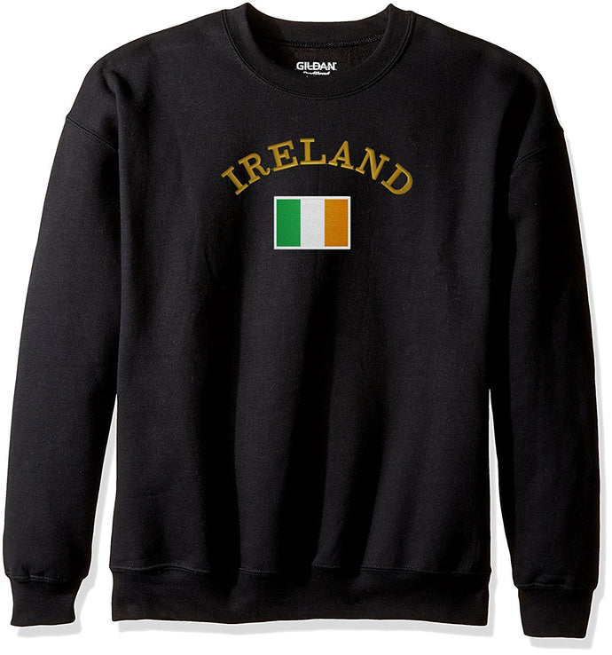 Choose From 17 IrishEmbroidered Designs On Gildan Crewneck Sweatshirt