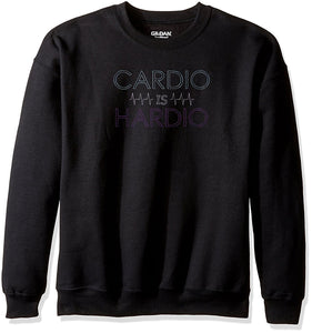 Choose From 3 Workout Embroidered Designs On Gildan Crewneck Sweatshirt