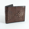 Backstrap Crocodile Skin Wallet