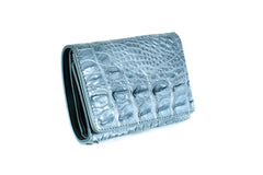 Mini Crocodile Skin Purse