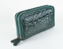 Crocodile Skin Clutch