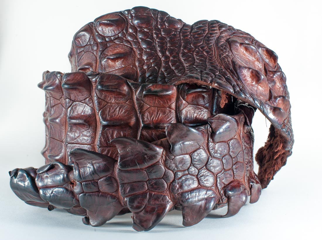 Crocodile Skin Display Backstrap