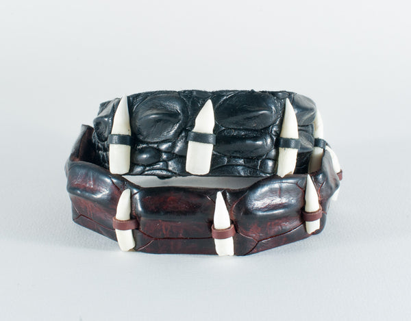 Crocodile Skin Wristband (toothed)