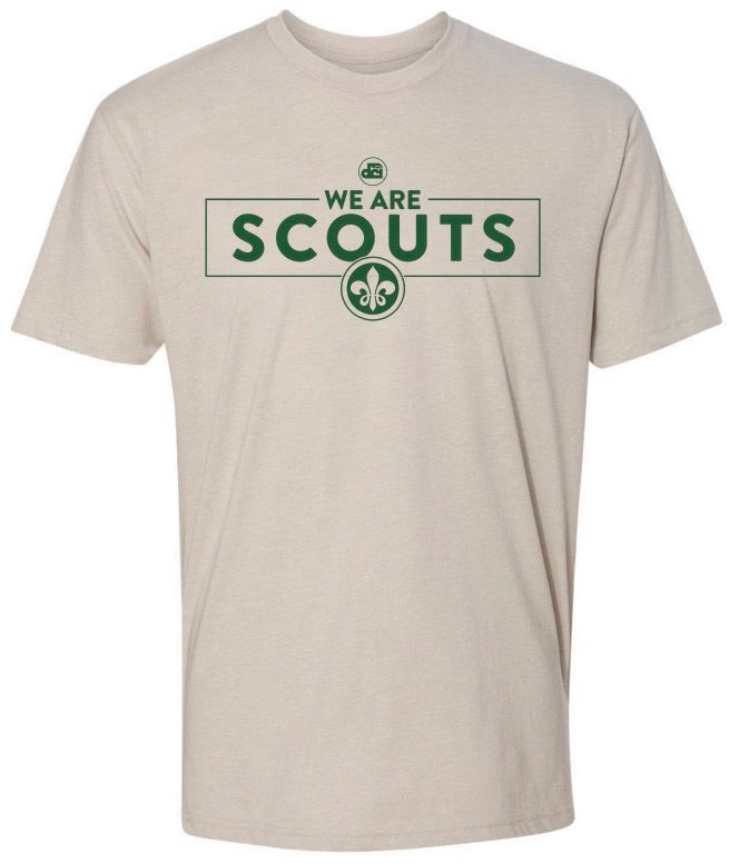 We are Scouts tee