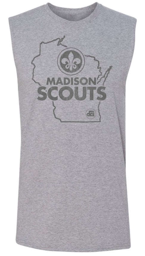 Wisconsin Muscle tee