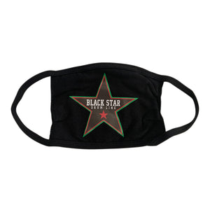 Black Star Logo Cotton Mask
