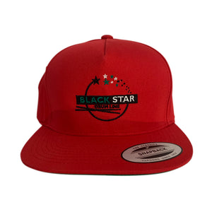 "Black Star Snapback ""Sticks"" Logo Snapback Cap"