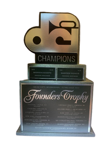 "Walk On ""Champions"" giving level: Founders Trophy (replica)"