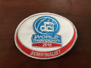 2018 Semifinalist patch