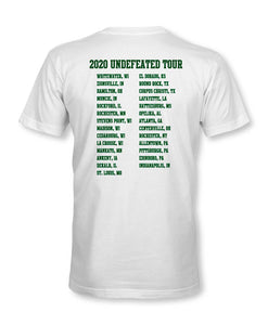 Undefeated 2020 Tour Tee