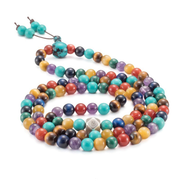 7 Chakra Mala Prayer Beads - Mala Prayer Beads