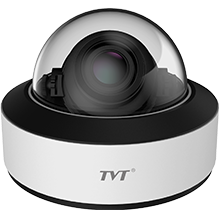 TVT 2MP Face Detection IP Camera, Vandal Dome,7-22mm Zoom