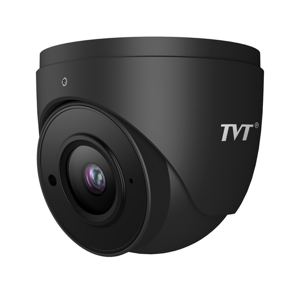 TVT 5MP Mini Eyeball H.265 IPC,20FPS,DWDR,Mic,20mIR,2.8(Grey)