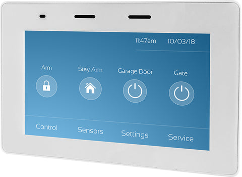 "5"" Touch Screen Keypad for Runner (White) m- ptoduts"