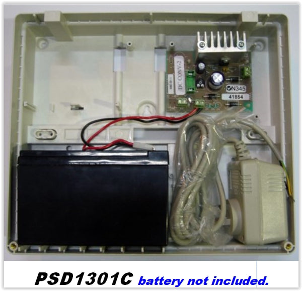13.8v DC 1.3A Power Supply in cabinet m- ptoduts