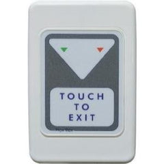 Trojan Wall Plate Prox Touch to Exit Button (2 LEDs) CSM security suppliers Security wholesalers