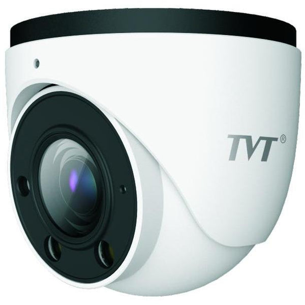TVT 2MP Starlight, Eyeball, H.265 IPC,30-50mIR,Zoom 2.8-12mm