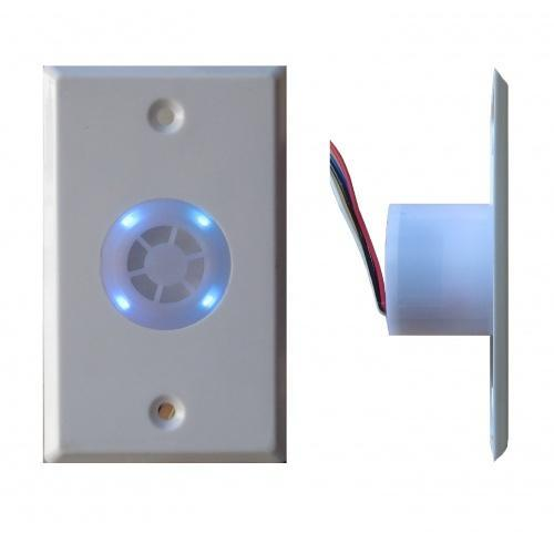 4 in 1 Combo Siren/Strobe/Buzzer and Blue LED Indicator