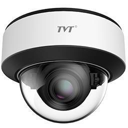 TVT 2MP Face Recognition AI IPC, Vandal Dome, Motorized Zoom Zoom 7-22mm