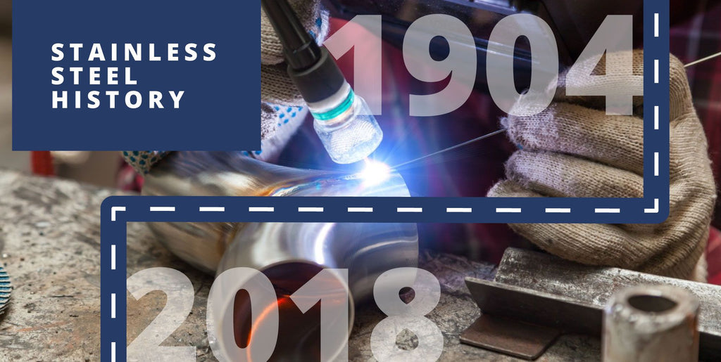 The History of Stainless Steel (Infographic)