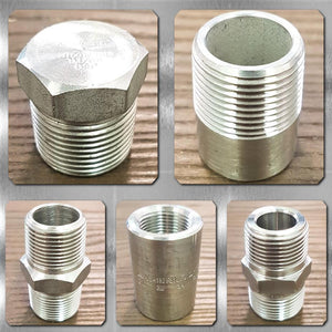 Stainless Steel NPT 3000# Fittings