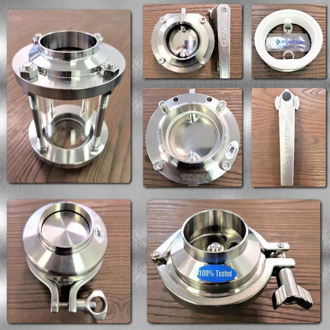 Stainless Steel Hygienic Valves & Sightglasses