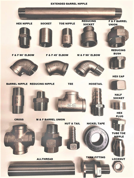 Stainless Steel BSP Fittings