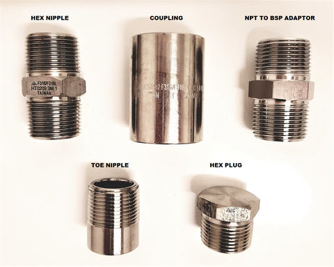 Stainless Steel NPT Fittings