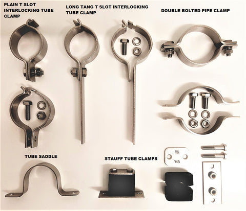 Stainless Steel Clamps & Saddles