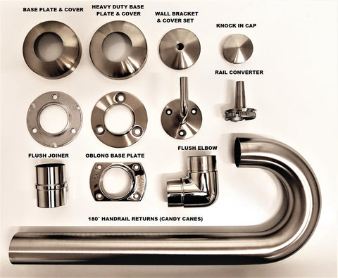 Stainless Steel Balustrade Fittings