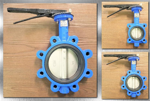 Stattin Stainless Lugged Butterfly Valves