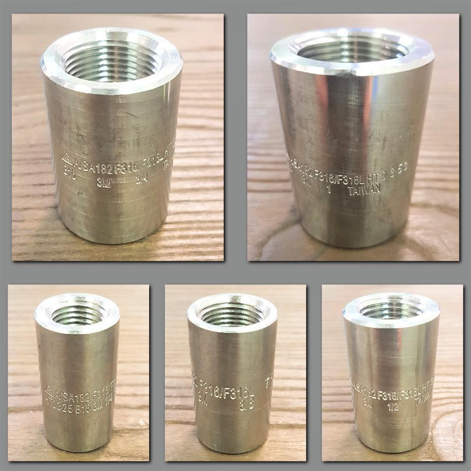Stattin Stainless Stainless Steel NPT 3000lbs Couplings