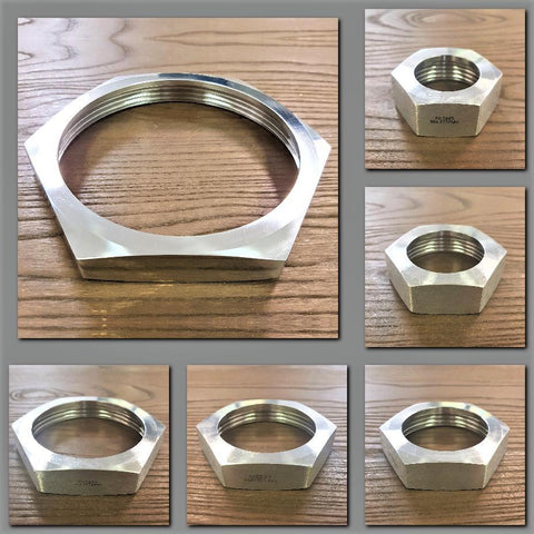 Stattin Stainless Stainless Steel BSM Hex Nuts