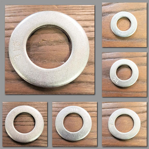 Stattin Stainless Stainless Steel BSP Tank Washers