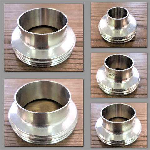 Stattin Stainless Stainless Steel DIN Male Parts