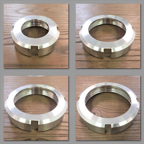 Stattin Stainless Stainless Steel DIN Slotted Nuts