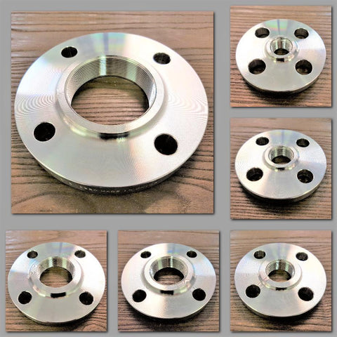 Stattin Stainless Stainless Steel ANSI 150lbs BSP Threaded Flanges