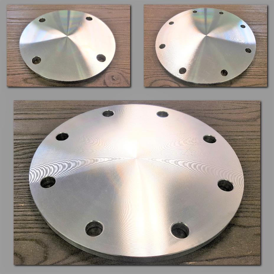 Stattin Stainless Stainless Steel Table D Blind Flanges