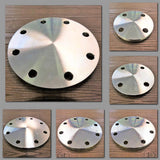 Stattin Stainless Stainless Steel Table E Blind Flanges