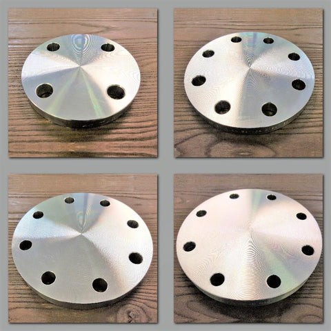 Stattin Stainless Stainless Steel Table H Blind Flanges