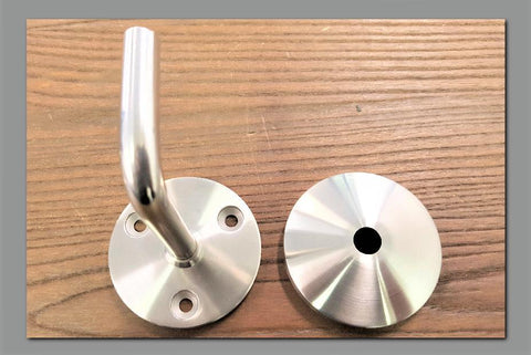 Stattin Stainless 12mm Satin (Masonry Walls) Stainless Steel Wall Brackets