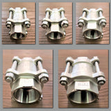Stattin Stainless Stainless Steel 3 Piece Spring Check Valves