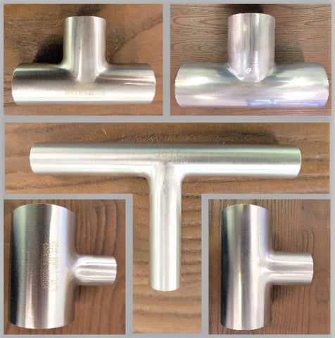 Stattin Stainless Stainless Steel Tube Tees
